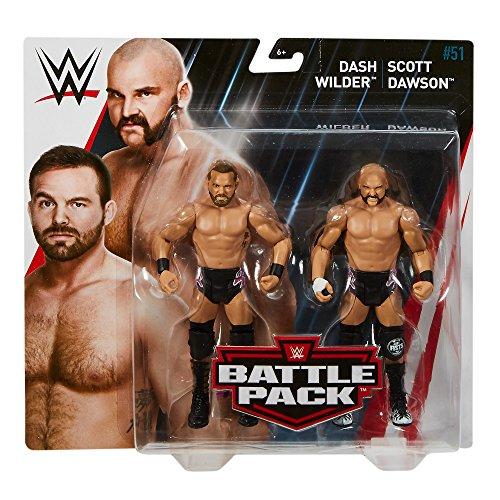 61fgcWXyijL - WWE-Series-51-Dash-Wilder-Scott-Dawson-2-Pack-Action-Figure