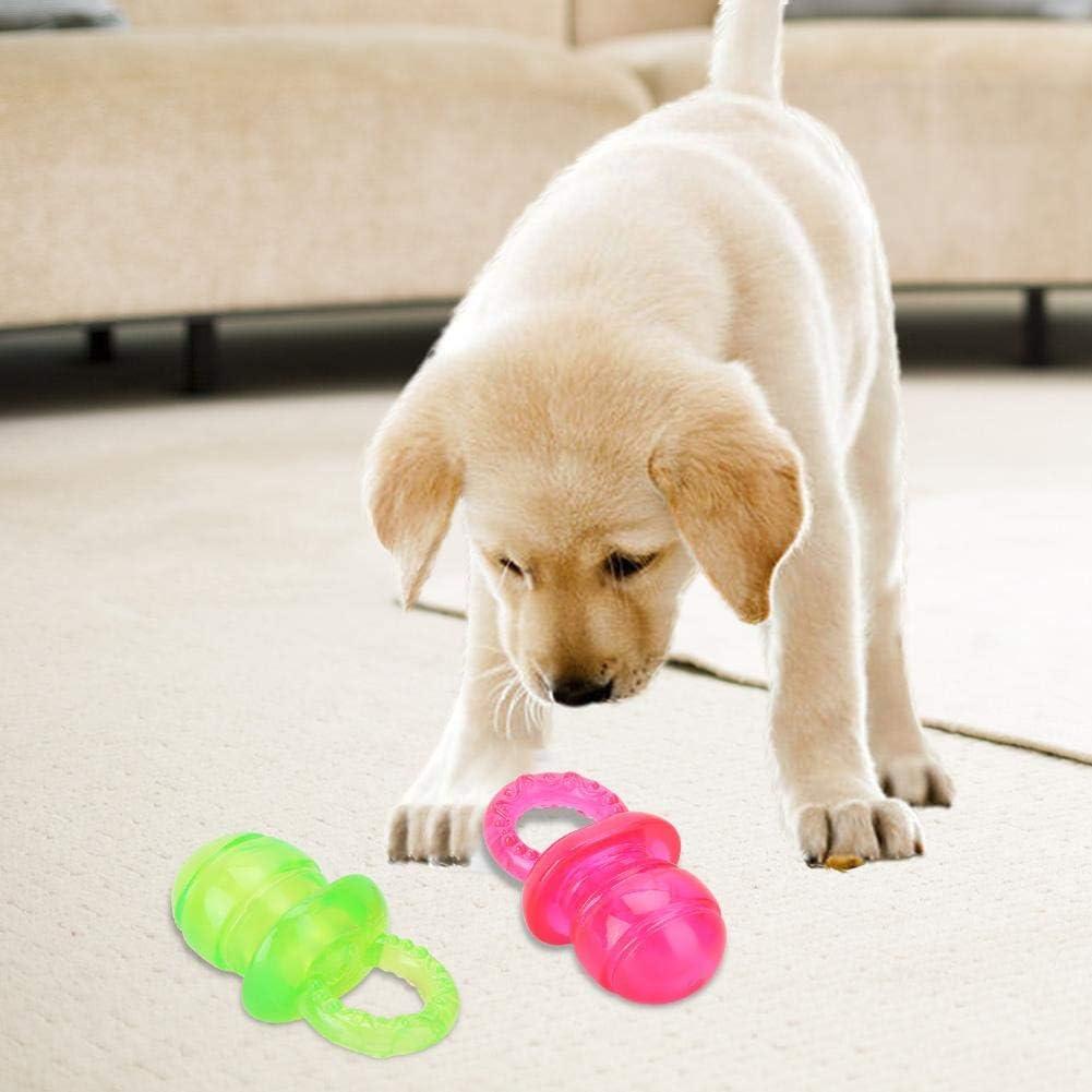 Juguete Molar para aliviar el aburrimiento del Chupete para Cachorros para Mascotas Caredy Juguete de Dientes de Color Brillante