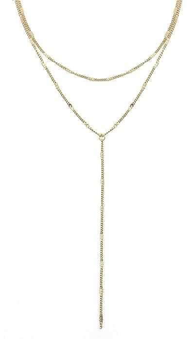 ottima vestibilità uomo Sito ufficiale Happiness Boutique Collana Multifilo in Color Oro | Delicata Collana Y  Bijoux Acciaio Inossidabile