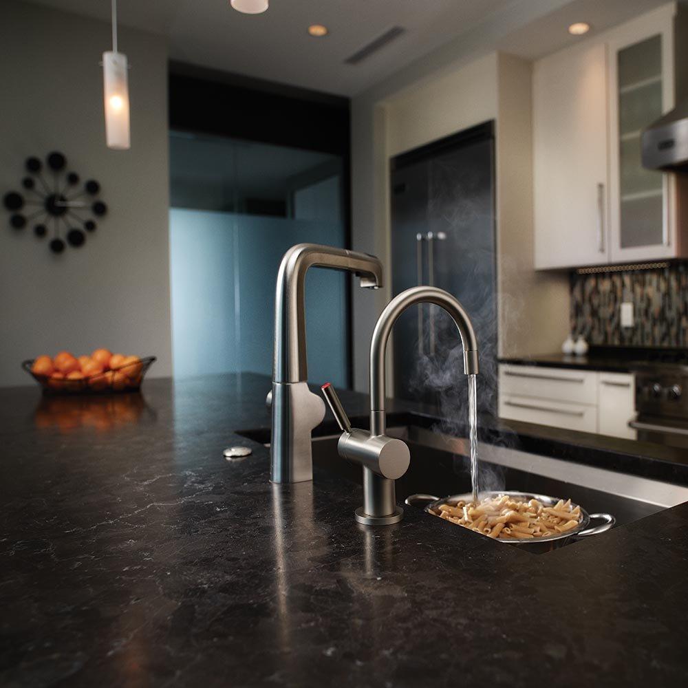 InSinkErator F-H3300SN Indulge Modern Instant Hot Water Dispenser ...