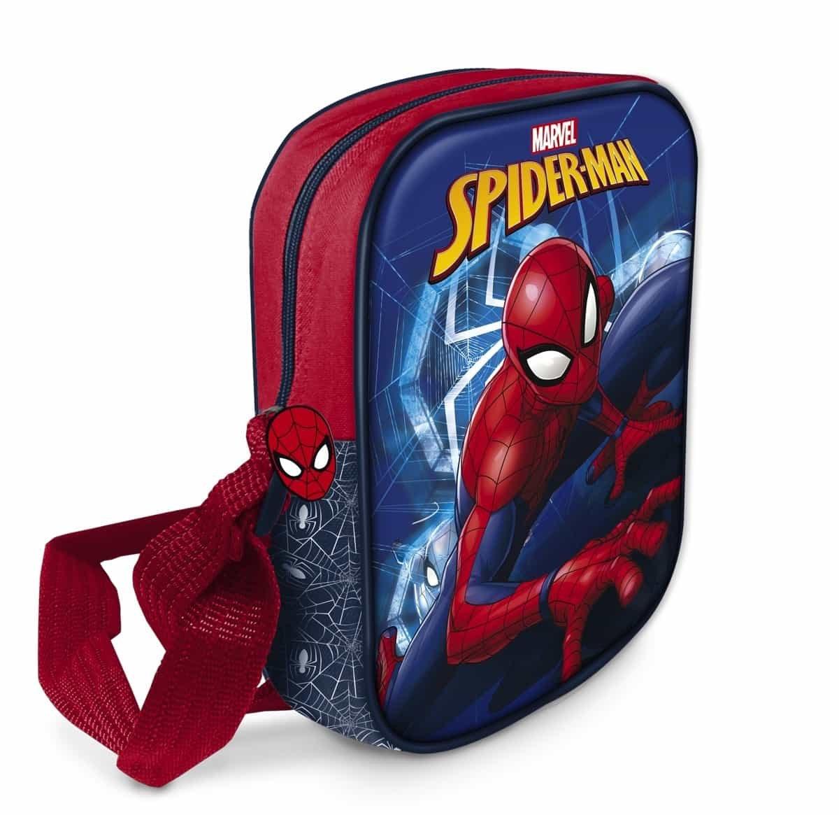 Star Licensing Disney Spiderman Borsa Messenger 20 cm Multicolore