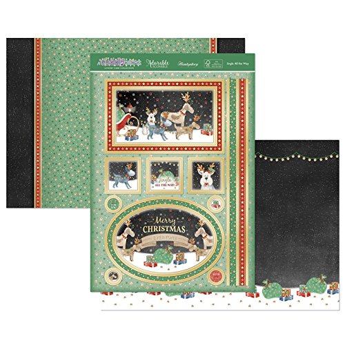 Hunkydory Crafts Cuddly Christmas - Jingle All The Way Topper Set