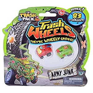 Trash Pack Wheels Army Junk Blister (2-Pack) by Trash Pack