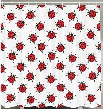 Rot Weiß Marienkäfer Muster Strauß aus Bugs Infinite ...