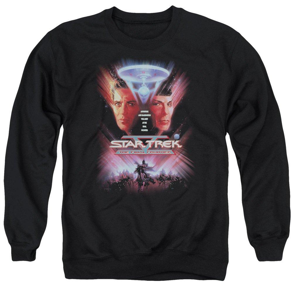 Star Trek Herren Sweatshirt Opaque Schwarz Schwarz