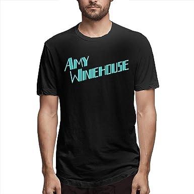 Camiseta Corta de Algodón Suave Clásica Básica Amy Winehouse ...