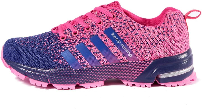 Zapatillas Running Deportivas Zapatos para Correr Zapatillas de Deporte Senderismo Shoes Mujer Hombre Rosa 40: Amazon.es: Zapatos y complementos