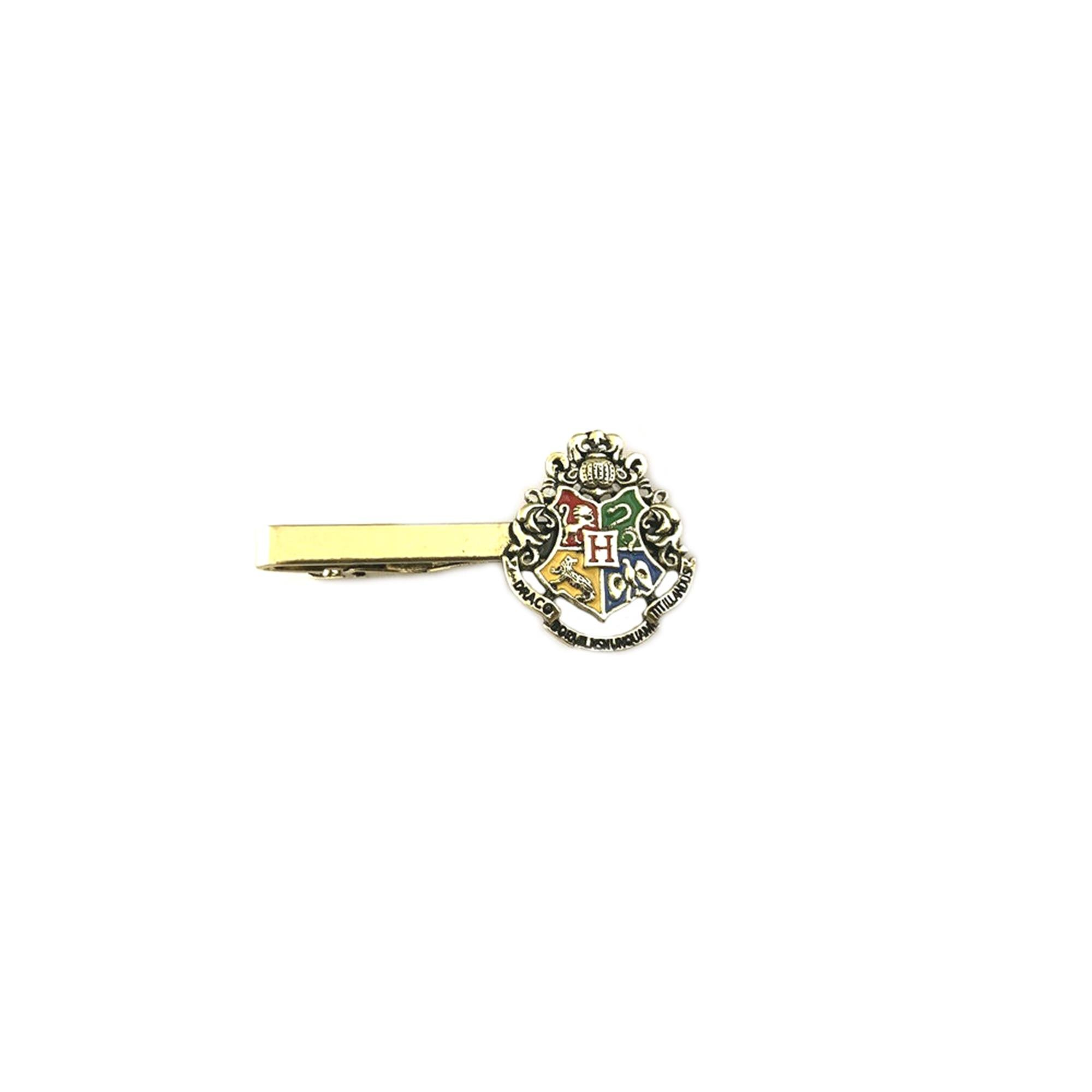 Athena Brand Movie Novel Harry Potter Hogwarts Crest Tie Bar In Gift Box