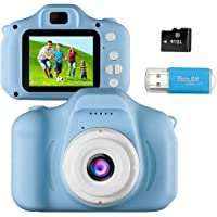 Kids Camera Toys for 4-8 Year Old Boys Toddler Rechargeable Cameras with 2 Inch IPS Screen for Children Birthday Gift…