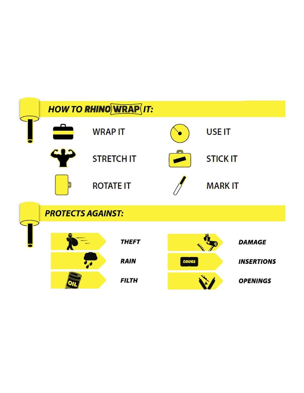 Rhino Wrap - Wrap - Carcasa protectora Stretch Wrap equipaje ...