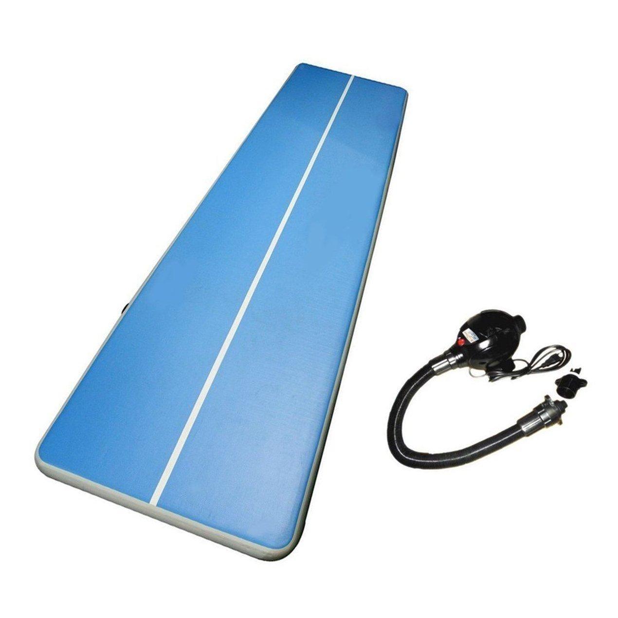 Luft-Bett mit Pumpen-aufblasbarer Luftmatratze Taekwondo-Gymnastik-Luft-Bett-Raumersparnis-Luft Tumbling Matratzen-Bett, Anti-Beleg-sicherer Luftpolster-Boden für Taekwondo Tumbling Gymnastic Yoga