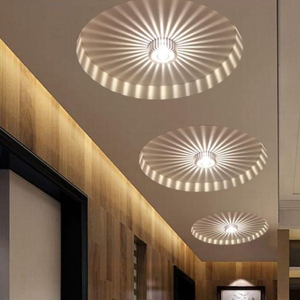 Modern corridor porch lightscreative ceiling lightsflush mounted modern corridor porch lightscreative ceiling lightsflush mounted sunflower wall lightsasile lights 3w warm white amazon lighting aloadofball