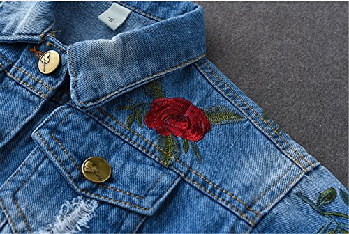 Kids-Baby-Girls-Floral-Embroidered-Denim-Jacket-Casual-Baseball-Jeans-Coats-Outwear