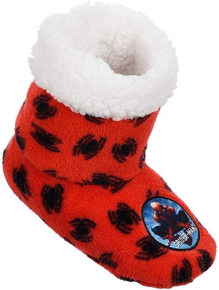 Chaussons hivernaux Spiderman Marvel antid/érapants chaussures de 25 /à 32 HS0641//1 25//26 rouge sabots