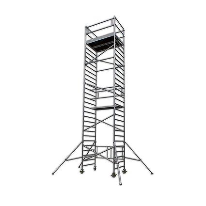 Profesional del andamio: Altec AluKlik 960-S XXL, altura de trabajo de 10 M, TÜV-probado, ...