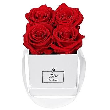 Tumao Ewige Rose Konservierte Rosenbox Liebeserklarung Perfekt Als