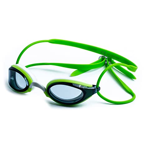 f638018c9803 Zoggs Adult Swimming Goggles Fusion Air - green silver