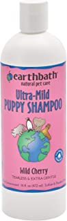 product image for Earthbath Ultra-Mild Wild Cherry Puppy Shampoo - Tearless & Extra Gentle, Aloe Vera, Vitamin E - Leave Your Pup Smelling and Feeling Better than Ever - 16 fl. oz