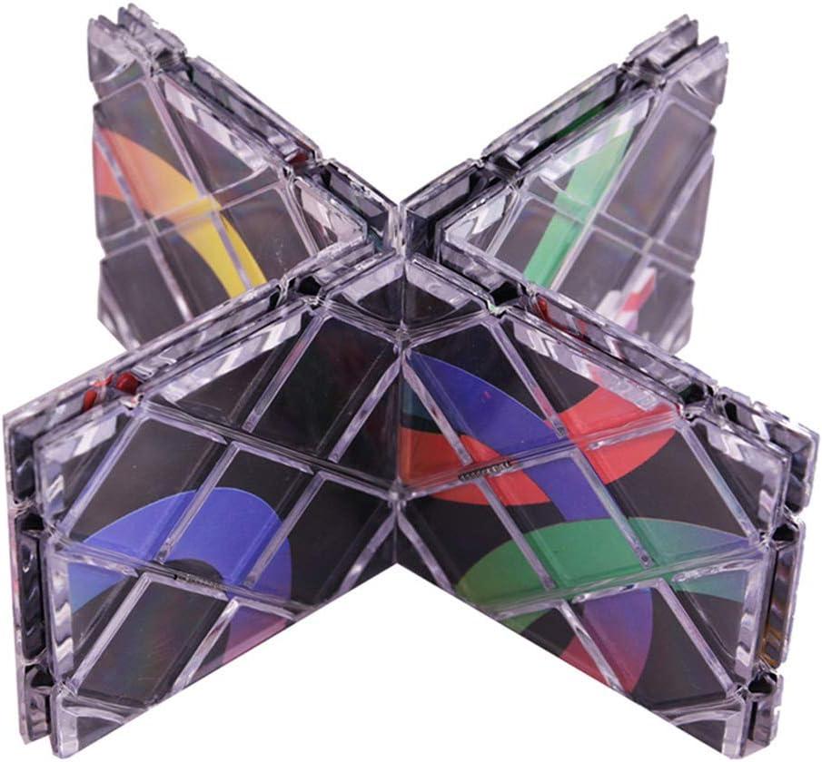Yissma Pliant Puzzle Cube Twisty Cubo Magico Professional Cube Classic Jouet 8 Panneaux