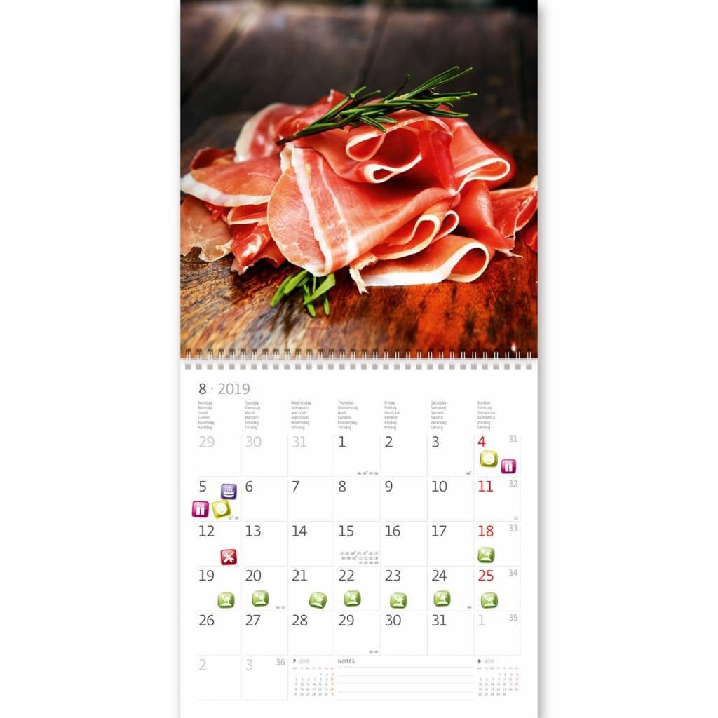 Kalpa Beb/és Calendario De Parojo 2020 Label Su D/ía Con 300 Pegatinas Para Ministerio Del Interior Planificador De 30 x 30 cm Calendarios 2020
