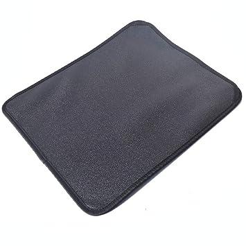 Estera de arena para gatos, impermeable alfombra de basura Diseño De Doble Capa Salvamanteles Para Superficie Panal Fácil De Limpiar Suave Para Mascotas ...