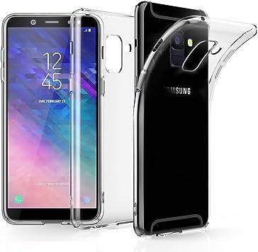 EIISSION Funda Compatible con Samsung Galaxy J6 2018, Ultra Fina ...