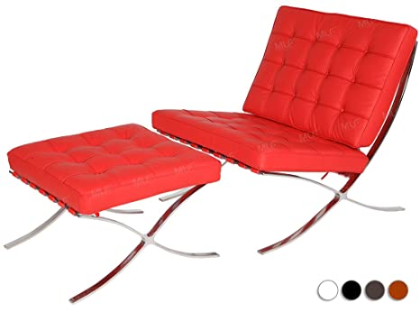 Groovy Amazon Com Mlf Pavilion Style Italian Leather Lounge Chair Gmtry Best Dining Table And Chair Ideas Images Gmtryco