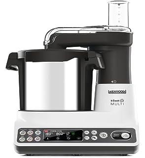 Taurus Mycook Robot de Cocina, 1600 W, 2 litros, Plástico|Acero Inoxidable, 10 Velocidades, Negro: Amazon.es: Hogar