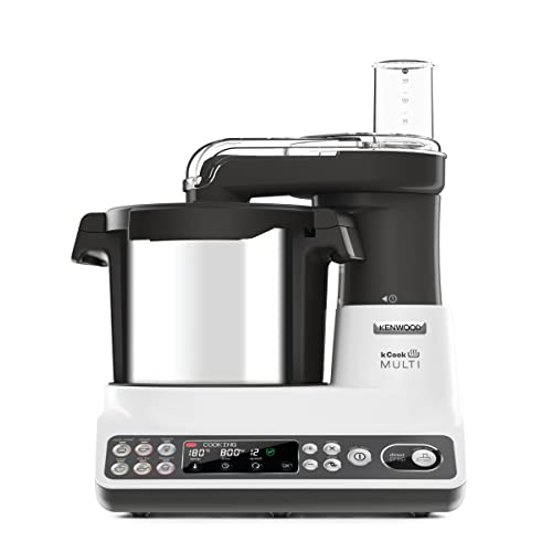 Kenwood KCook Multi CCL401WH - Robot de Cocina, 1500 W, Hasta 180ªC Temperatura,