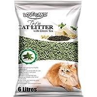 Emily Pets Natural Clumping Tofu Cat Litter Green Tea Fragrance, 6L