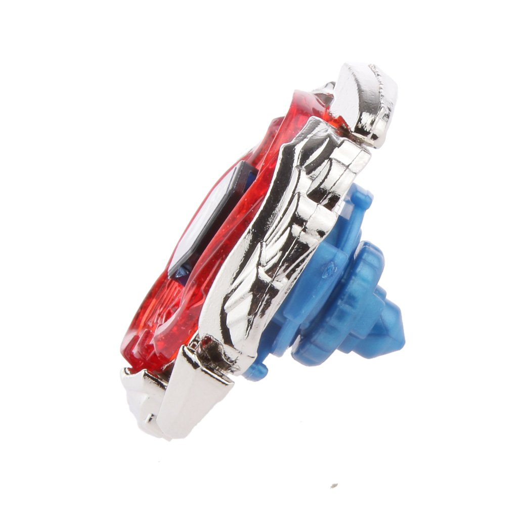 Ensemble Assemblage Toupie Gyro Fusion 4D Ma/ître M/étallique W Lanceur Gyroscope Jouet BB121A