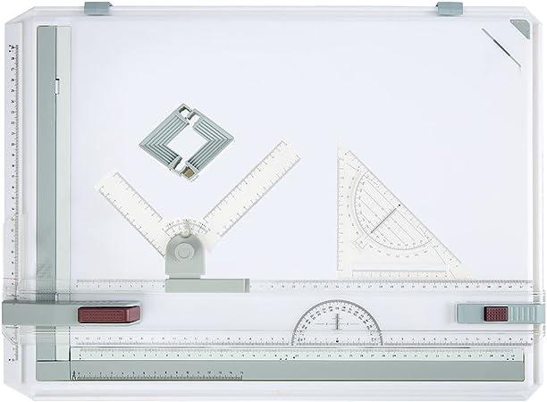 Buyi-World Mesa de dibujo A3 Tablero de dibujo 50 × 36cm, Tablero ...