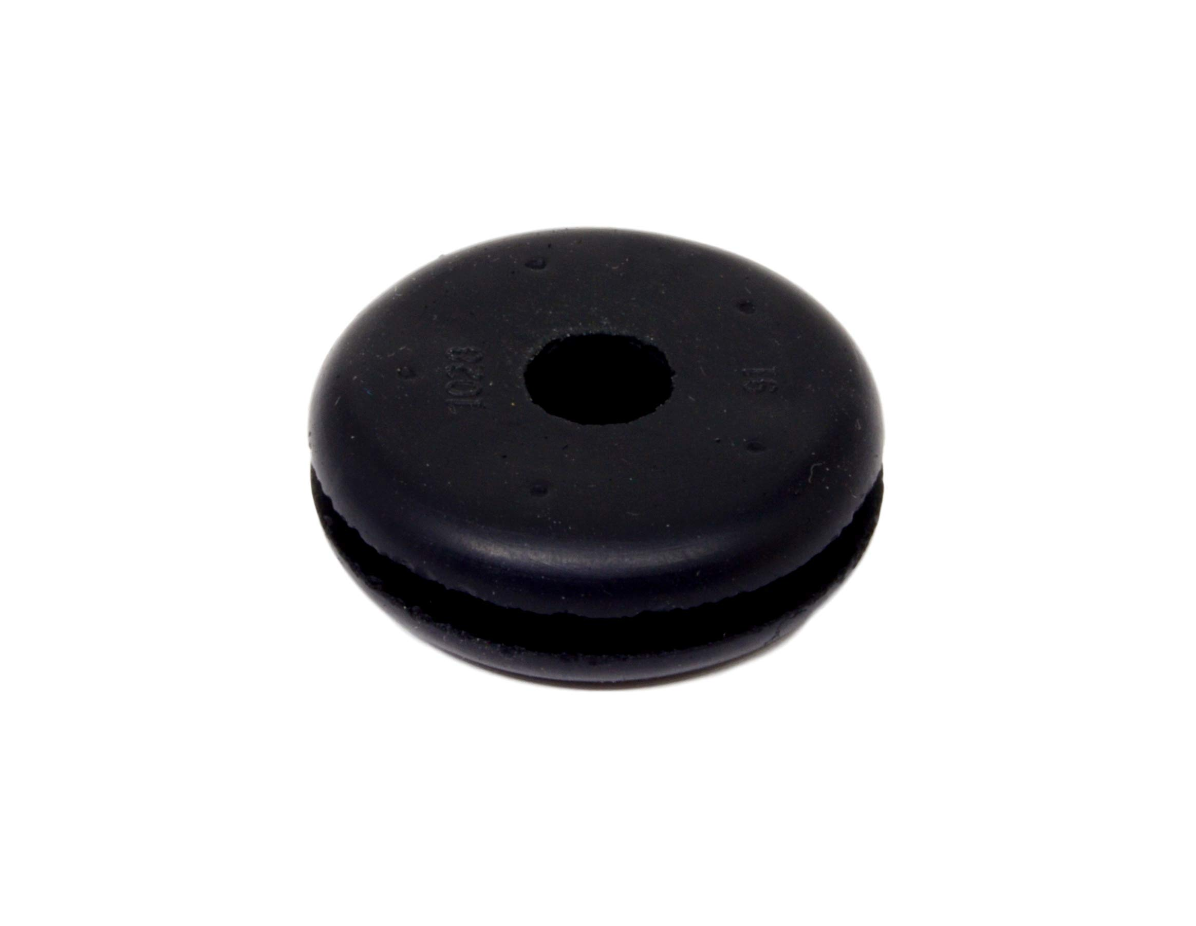 Rubber Grommet Fits 7/8'' Panel Hole in 3/32'' Thick Panel Has 9/32'' Inch Center Opening RGR93278