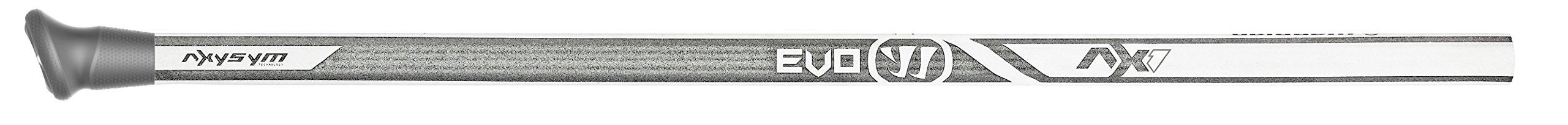 Warrior Evo AX1 Composite Defense Handle Lacrose Shaft, White