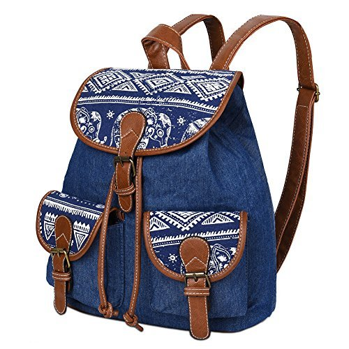 Main Dos TickTocking Pineapple Sac Elephant Black pour Femme à Blue au porté 7FF1qfWg