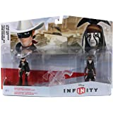 Disney Infinity: Playset Pack con The Lone Ranger e Tonto (Set di personaggi)