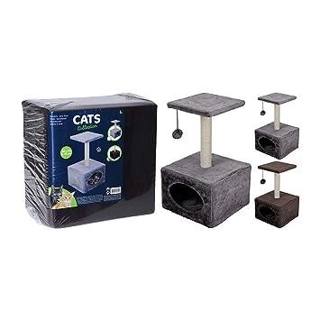 EMA Color enviado al Azar árbol de 53 cm, diseño de Gato: Amazon.es: Productos para mascotas