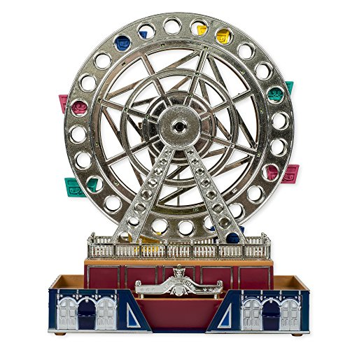 Musical Light Up Ferris Wheel Jewelry Box Figurine - Plays for -