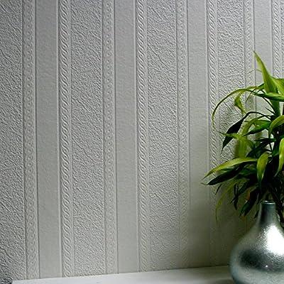 Brewster 437-RD80011 Blarney Marble Stripe Textured Vinyl Wallpaper