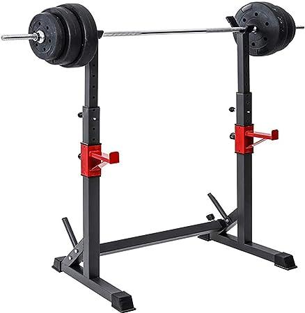 Supporto Bilancere rastrelliera fitness rack e dip 150Kg Squat bodybuilding