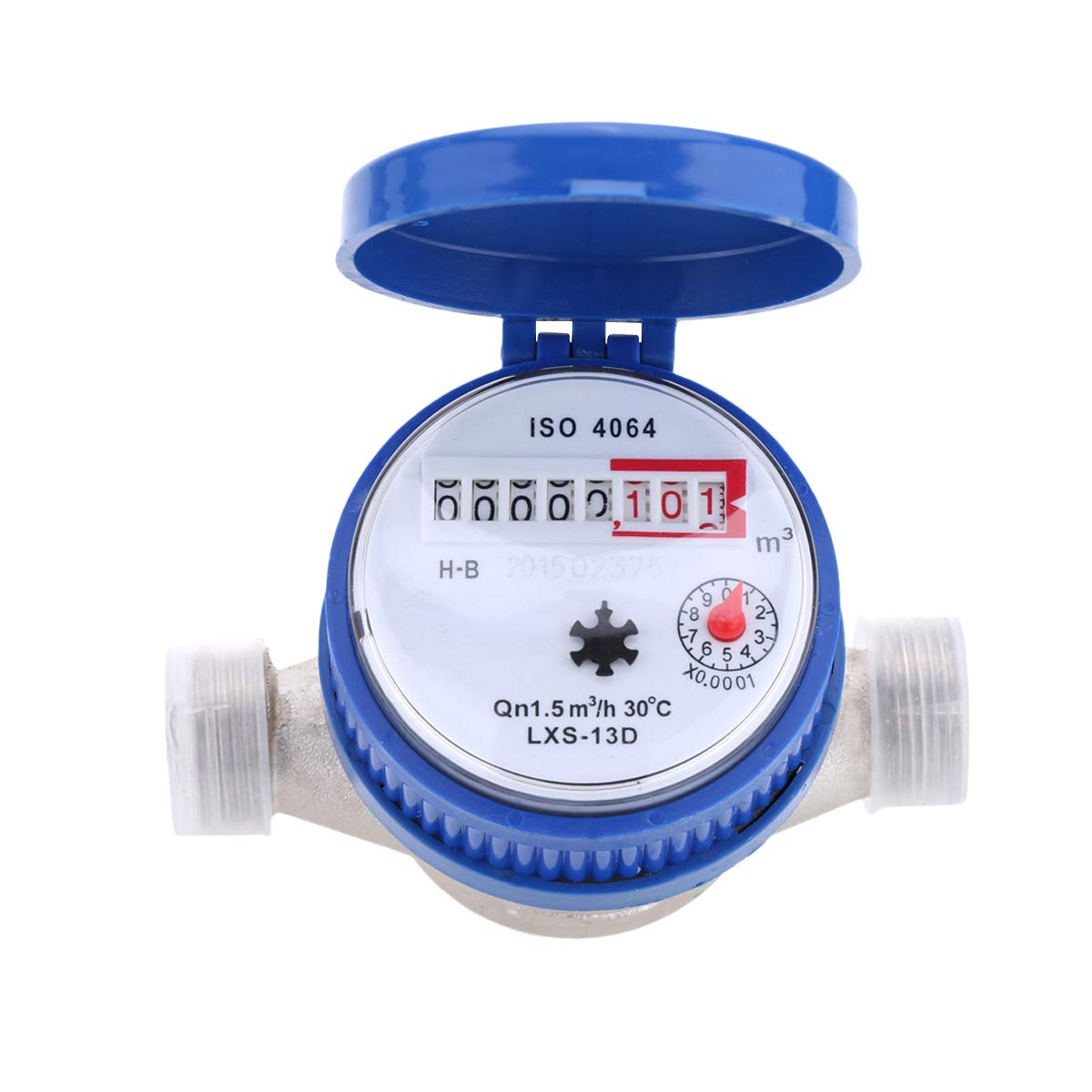 Hemobllo Water Meter Water Flow Meter Cold Water Meter for Garden and Home use by Hemobllo