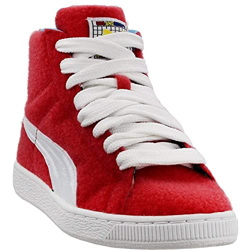 competitive price bb9ae 54f55 PUMA Womens Dee & Ricky Basket Mid Casual Sneakers,