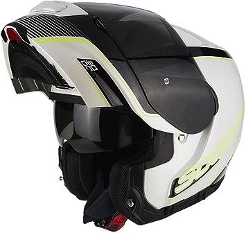 Scorpion Casco Moto exo-3000 Air Stroll, multicolor, talla XXL