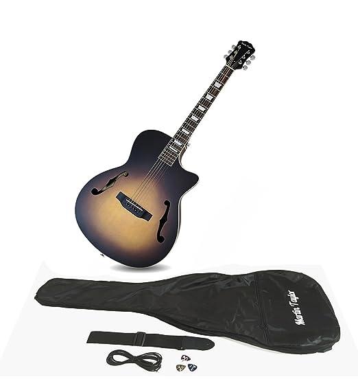 Martin Taylor - Guitarra eléctrica semiacústica, de caja hueca, de ...