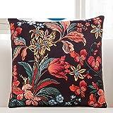 More colors American country fresh hug pillowcase super soft plush back cushion pillowcase for sofa and bed -I 45x45cm(18x18inch)VersionB