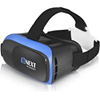 VR Headset Compatible with iPhone & Android Phone - Universal Virtual Reality Goggles - Play Your Best Mobile Games 360…