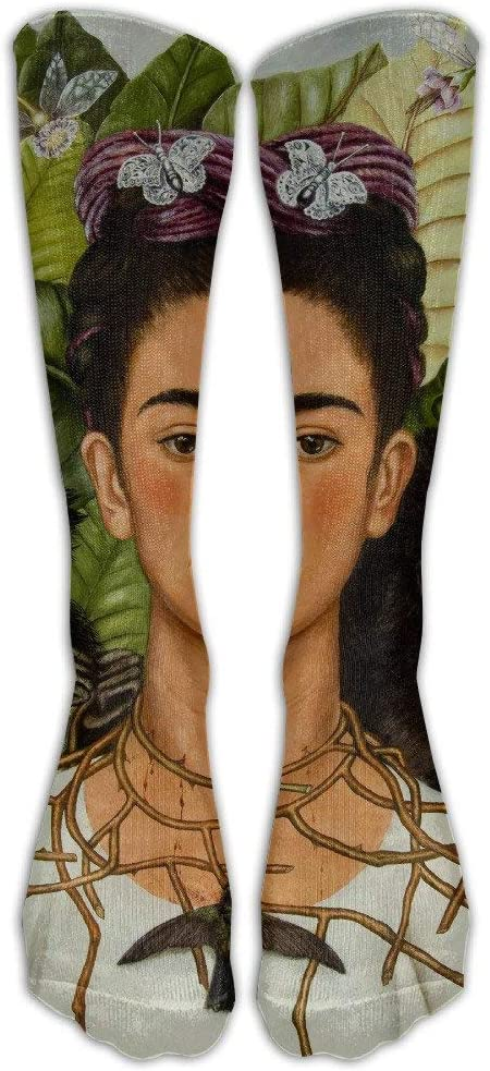 Nifdhkw Unisex Frida Kahlo.jpg Crew Fashion Novelty Socks