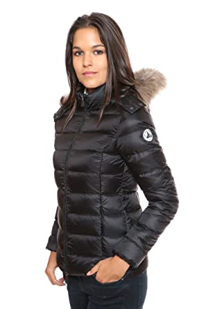618e7be5bc4 XL doudounes jott doudoune luxe grand froid noir  Amazon.fr ...