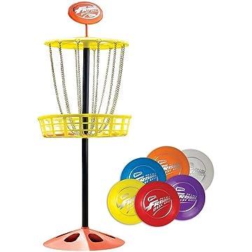 powerful Wham-O Mini Frisbee Set