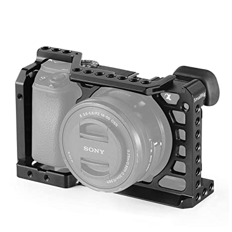 SMALLRIG a6500 Cage Jaula para Sony a6500 / a6300-1889: Amazon.es ...